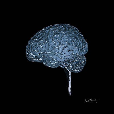 Inflexible - Mri Digital Art Art Print by Darin Volpe