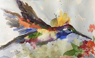 Painting - Inflight by Patsy Walton
