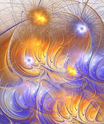 Digital Art - Influence by Anastasiya Malakhova