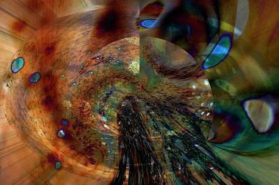 Digital Art - Influx by Richard Thomas