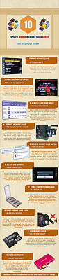 Data Mixed Media - Infographic10 Tips To Avoid Memory Card Errors And Corruptions by Henri Charles