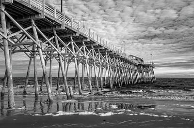Photograph - Infrared At Garden City Pier by Cathie Crow