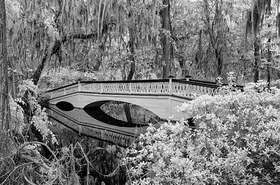 Photograph - Infrared Bridge by Cathie Crow