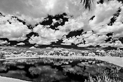 Old Masters - Infrared Indian River State College Hendry Campus #12 by Bill Piacesi
