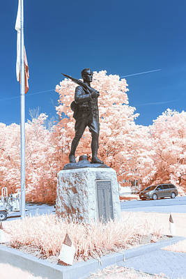 Photograph - Infrared Memorial by Brian Hale