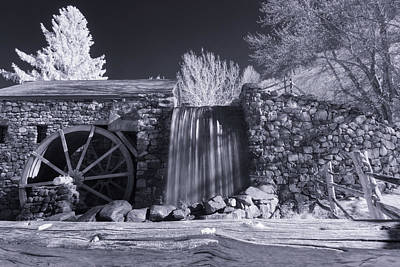 Photograph - Infrared Mill 2 by Brian Hale