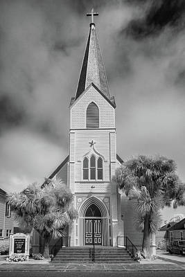 Photograph - Infrared Of Ferndale Church by Greg Nyquist