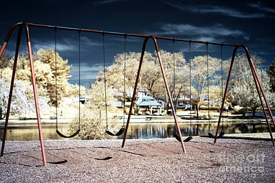 Photograph - Infrared Playground by John Rizzuto