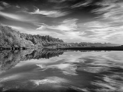 Photograph - Infrared Reflections On Little River by Greg Nyquist