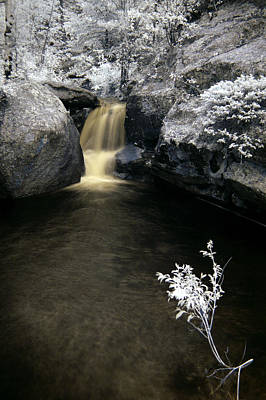Photograph - Infrared Water Fall by Thomas Bomstad