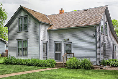 Photograph - Ingalls Home by Susan Rissi Tregoning