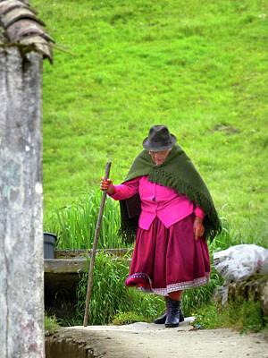 Photograph - Ingapirca Inca Ruins 36 by Jeff Brunton