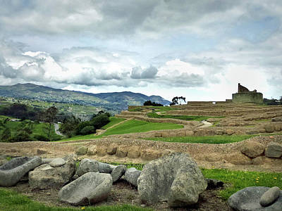 Photograph - Ingapirca Incan Ruins 49 by Jeff Brunton