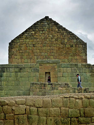 Photograph - Ingapirca Incan Ruins 63 by Jeff Brunton