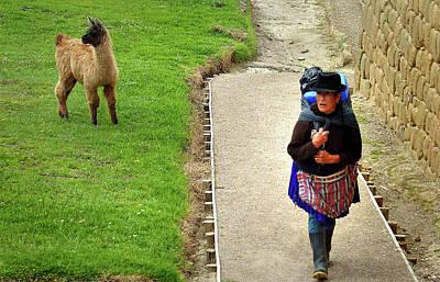 Photograph - Ingapirca Incan Ruins 80 by Jeff Brunton