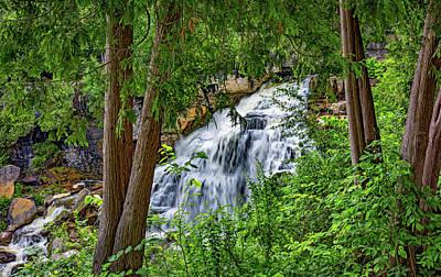 Ledge Photograph - Inglis Falls 2  by Steve Harrington
