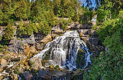 Photograph - Inglis Falls 4 by Steve Harrington