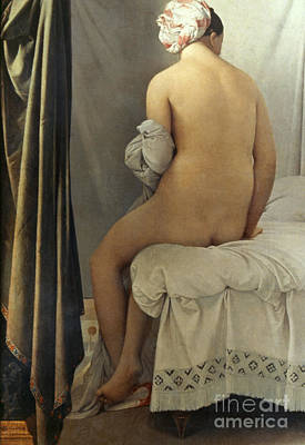 Hygiene Painting - Ingres: Bather, 1808 by Granger