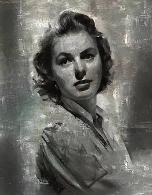 Celebrities Royalty-Free and Rights-Managed Images - Ingrid Bergman by Esoterica Art Agency
