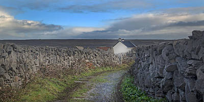 Inis Mor Country Art Print by Betsy Knapp