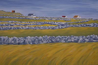 Painting - Inish Mor by John Farley