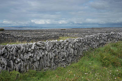 Photograph - Inisheer In Perspective by John Farley