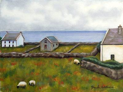 Inishmore Island Art Print by Brenda Williams