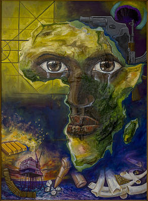 Corruption Mixed Media - Injustice by Iwan Groot