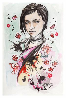Painting - Ink Blots by Miguel Karlo Dominado