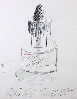 Rubber Stamps Mixed Media - Ink Bottle Two by John Morris