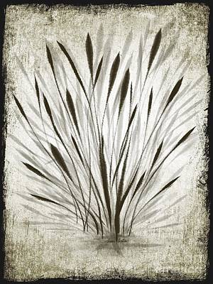 Art Print featuring the drawing Ink Grass by Ivana Westin