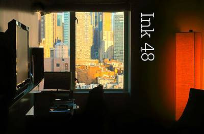Photograph - My Hotel Room Ink48 by Diana Angstadt