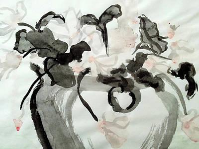 Wall Art - Painting - Ink Pot by Helen Krummenacker