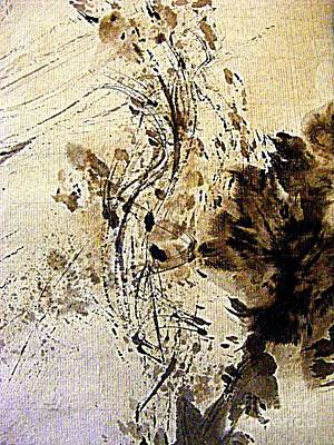 Painting - Ink Takes A Dance by Nancy Kane Chapman