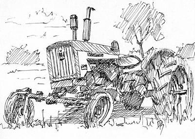 Dilapidated Drawing - Inktober 2017 No 11 by David King