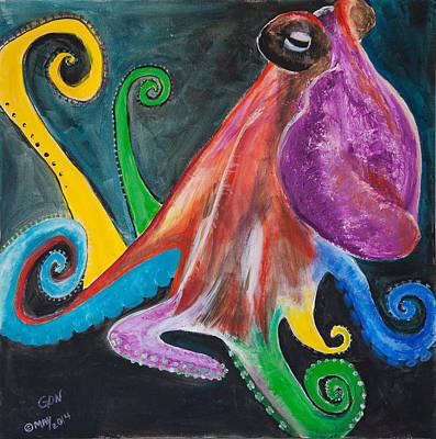 Painting - Inky by Sierra Logan