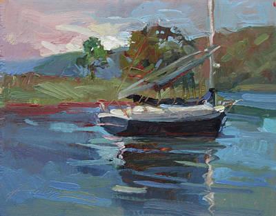 Painting - Inland Bay - Catalina Island by Betty Jean Billups