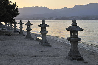 Miyajima Photograph - Inland Sea Sunset by Andy Smy