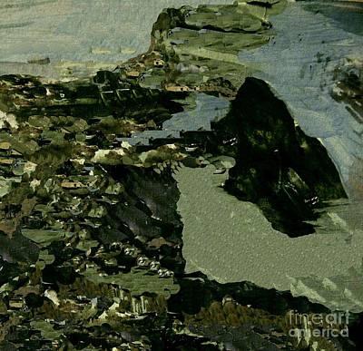 Digital Art - Inland Waters by Nancy Kane Chapman