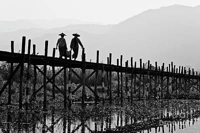 Photograph - Inle Lake - Burma by Craig Lovell