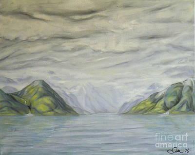 Painting - Inlet by Ida Eriksen