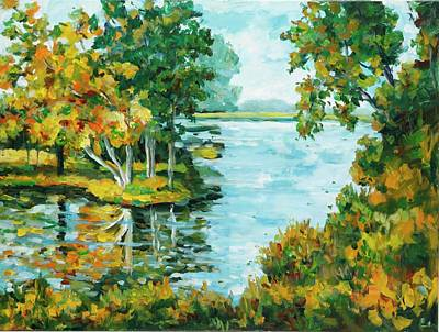 Painting - Inlet by Ingrid Dohm
