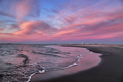 Photograph - Inlet Sunset by John Loreaux