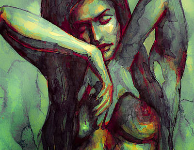 Painting - Inlove 3 by Laur Iduc