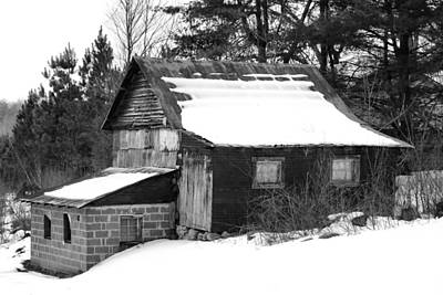 Photograph - Inman's Barn 2 by Kathryn Meyer