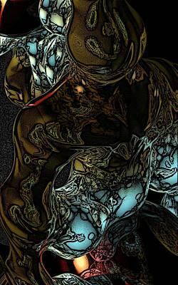 Digital Art - Inner Being by David Lane