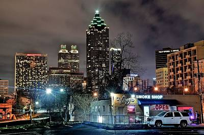 Photograph - Inner City Atlanta by Frozen in Time Fine Art Photography