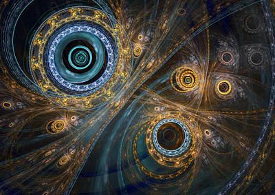 Digital Art - Inner Complex by Martin Capek