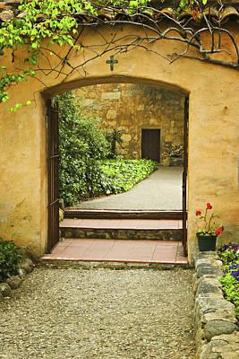 Photograph - Inner Courtyard by Dan McGeorge