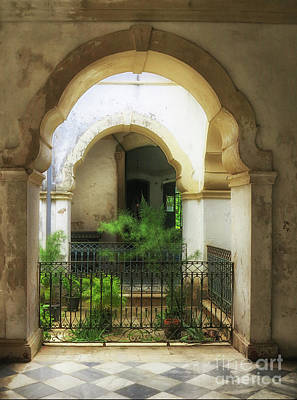 Photograph - Inner Courtyard by Vivian Christopher